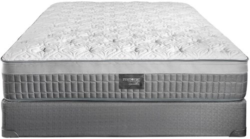 Restonic Majesty Queen Plush Latex Foam Mattress