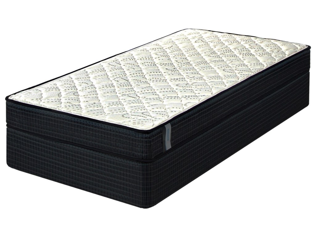 Restonic Devlin FirmKing Firm Innerspring Mattress Set