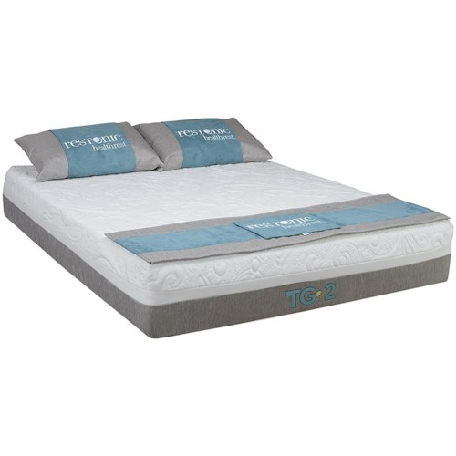 Restonic Health Rest Awaken Full Latex Mattress