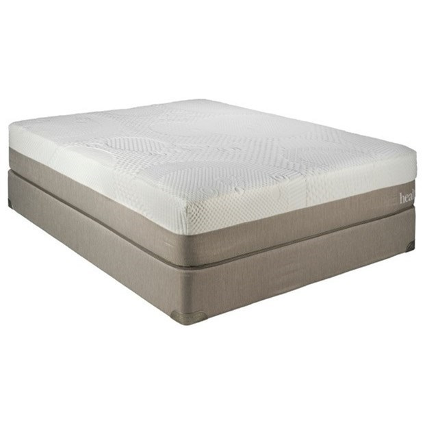 Queen 12 Gel Infused Memory Foam Mattress And 5 Low Profile