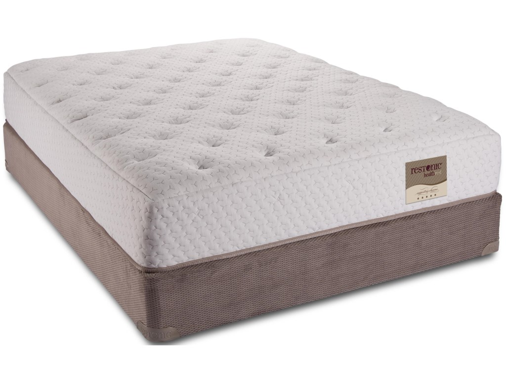 Restonic HealthRest CaprinaQueen Latex Mattress Set