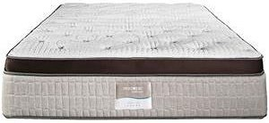 Restonic HealthRest Prague Full Luxury Firm Latex Mattress and 9