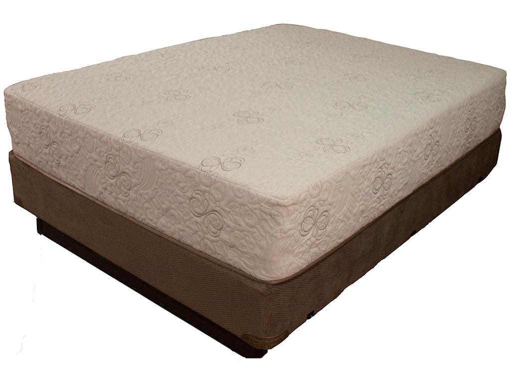 Restonic HealthRest RelaxCal King Memory Foam Mattress