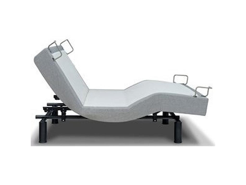 Restonic ViennaQueen Eurotop Firm Latex Adjustable Set
