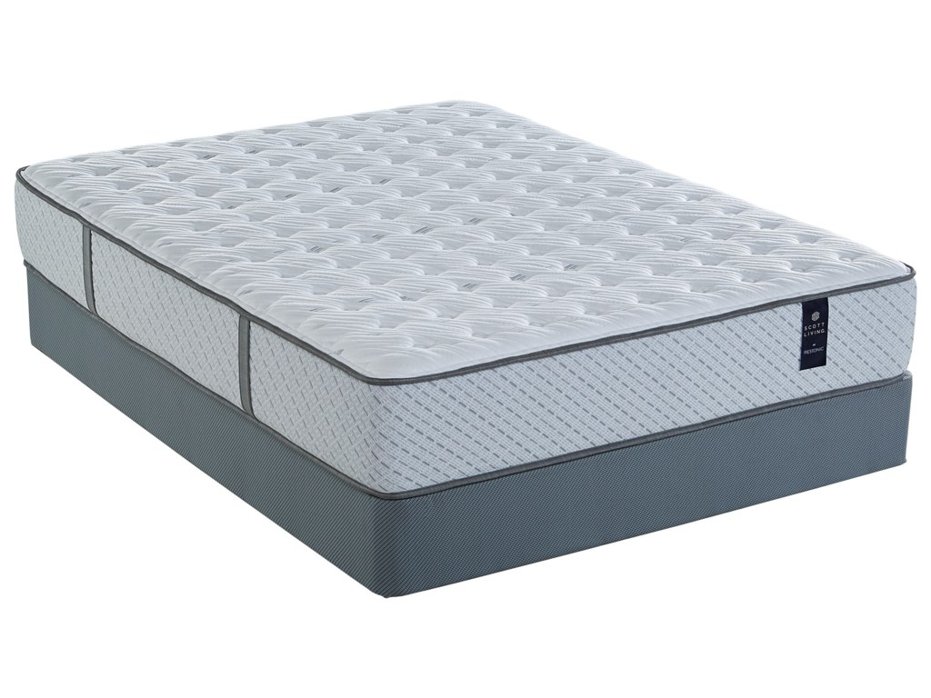Restonic Juniper Extra FirmTwin XL Pocketed Coil Mattress Set