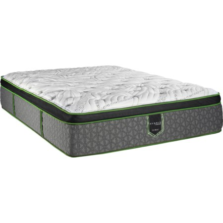 "Queen 15"" Euro Top Hybrid Mattress"