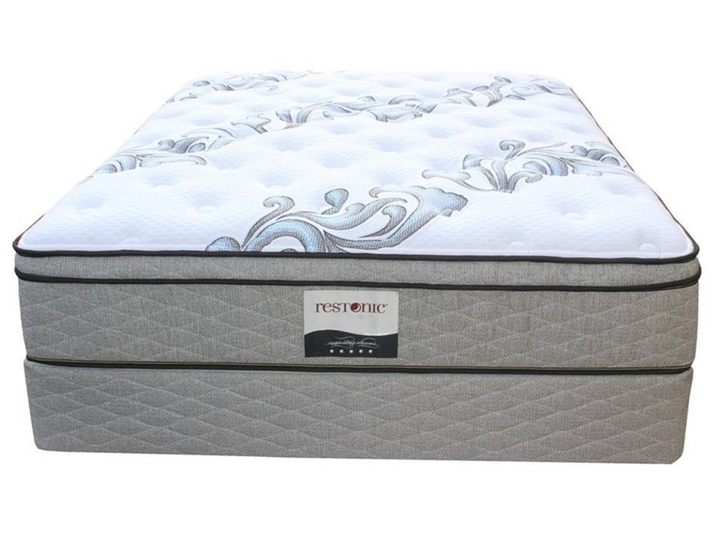 Restonic Ortho-Pedic Acclaim ETTwin XL Euro Top Pocketed Coil Set