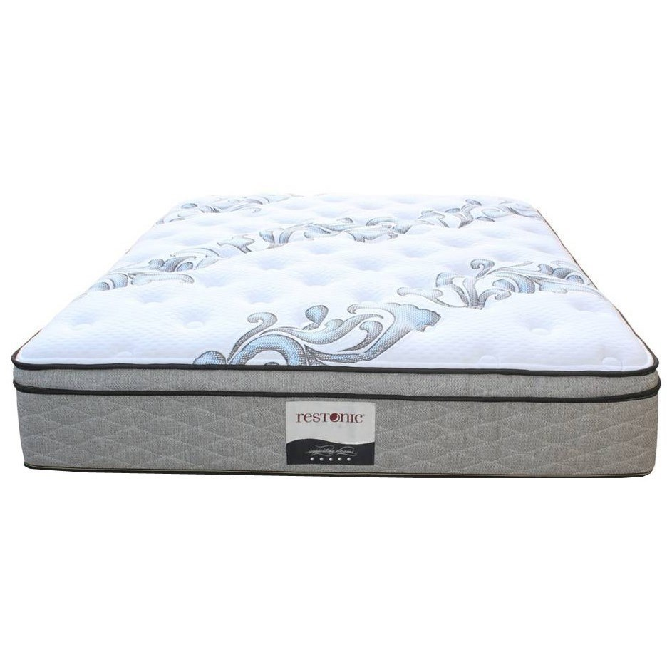 Queen Euro Top Pocketed Coil Mattress Ortho Pedic Acclaim Et By
