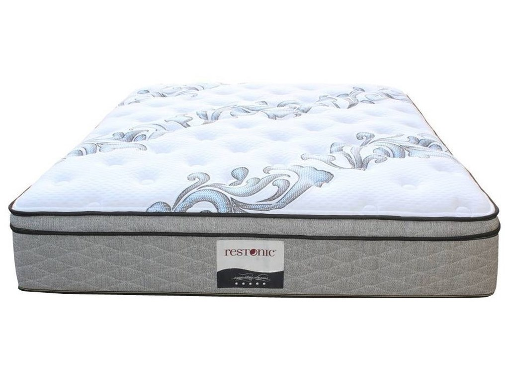 Restonic Ortho-Pedic Acclaim ETQueen Euro Top Pocketed Coil Mattress