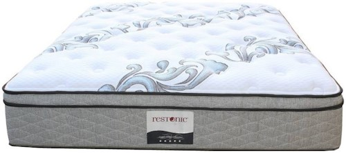 Restonic Ortho-Pedic Acclaim ET Queen Euro Top Pocketed Coil Mattress