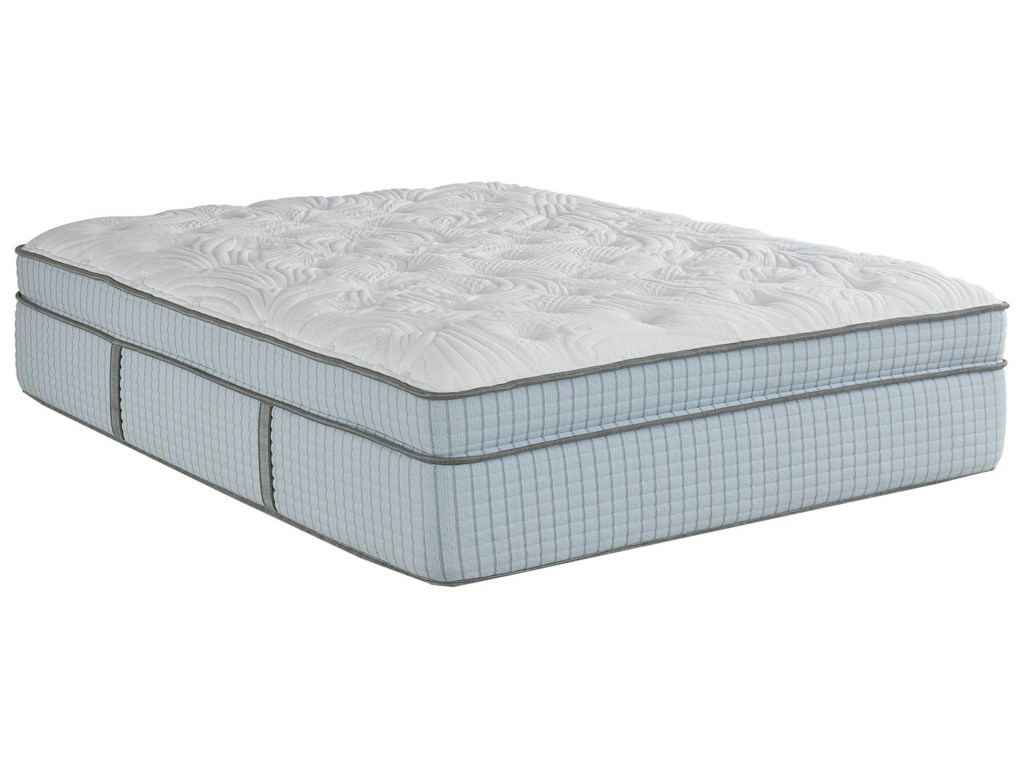 Restonic Scott Living Ambiance ETCal King Euro Top Coil on Coil Mattress