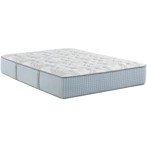 Restonic Scott Living Panorama Firm Queen Firm Hybrid Mattress