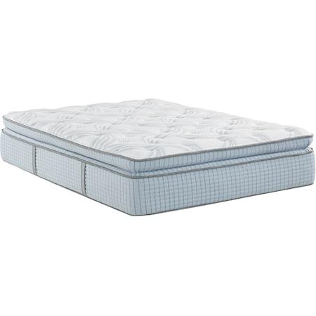 Queen Super Pillow Top Hybrid Mattress