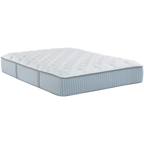 Restonic Scott Living Stargazer Plush King Plush Hybrid Mattress and Deluxe Adjustable Base