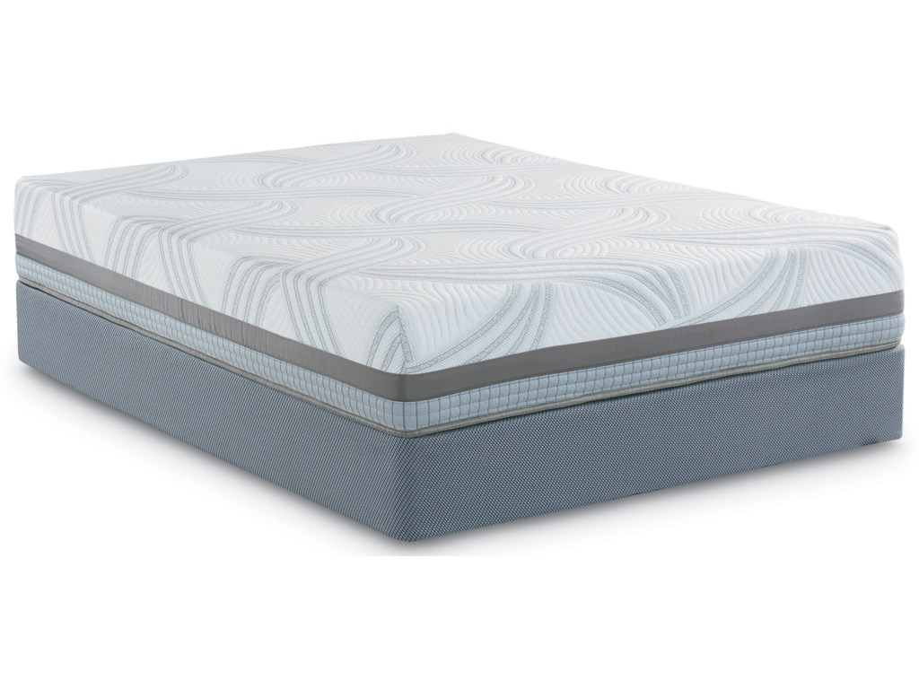 frost pillow memory top everest foam mattress hybrid inch product