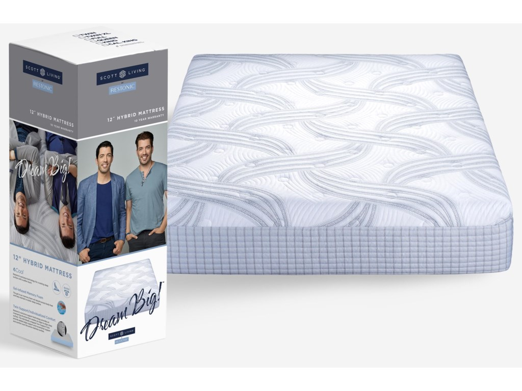Restonic Scott LivingMattress in a Box