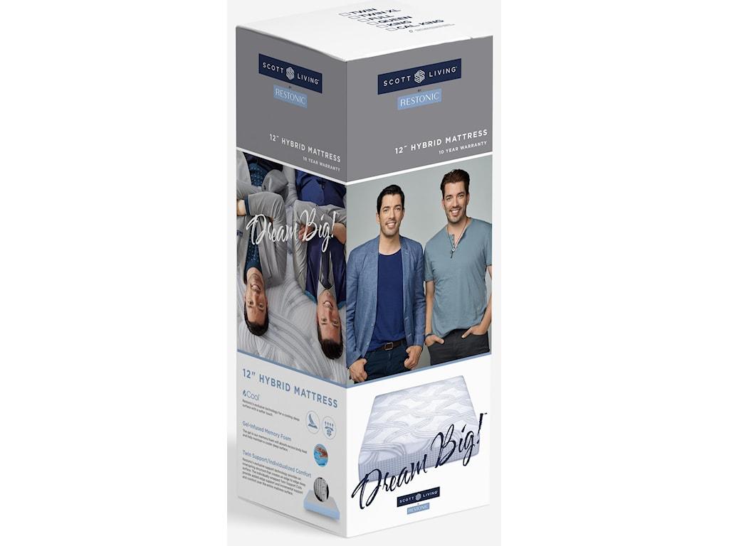 Restonic Scott LivingTwin XL Mattress in a Box