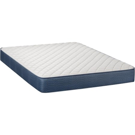 "King 9"" Firm Two Sided Mattress"