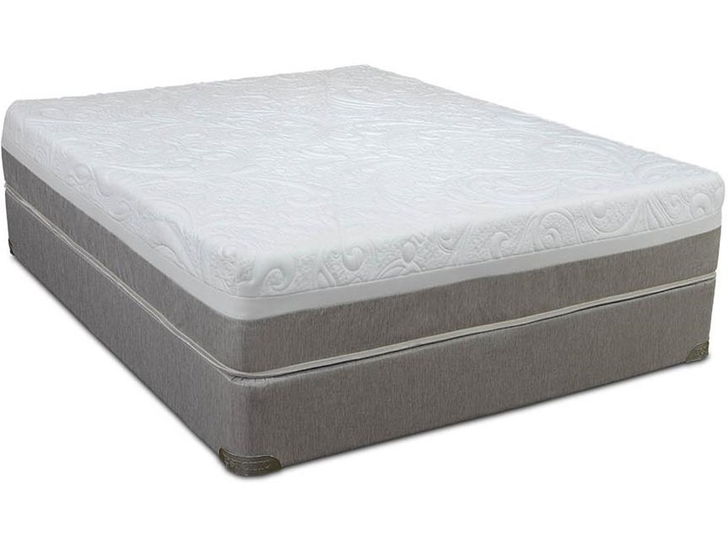 Restonic AwakenTwin Gel Infused Memory Foam Mattress