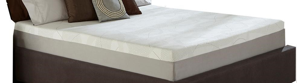 Restonic Wedgewood 10-InchFull Memory Foam Mattress Set