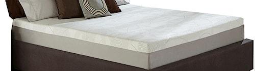 Restonic Wedgewood 10-Inch Twin Memory Foam Mattress