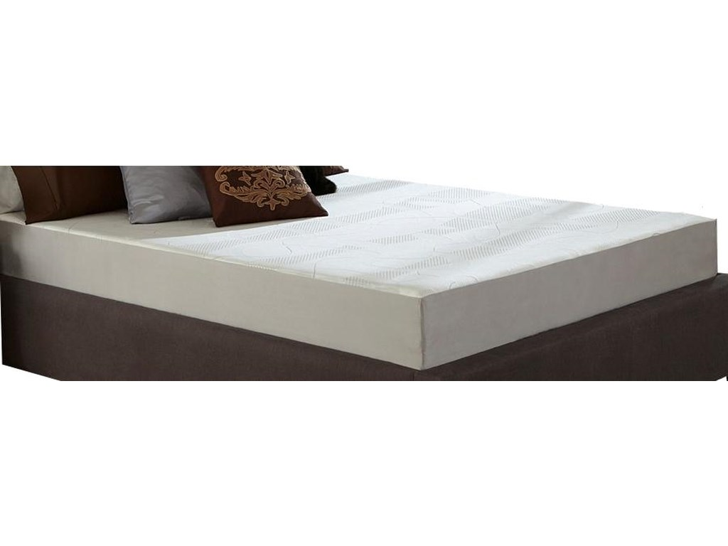 Restonic Wedgewood 8-InchCal King Memory Foam Mattress