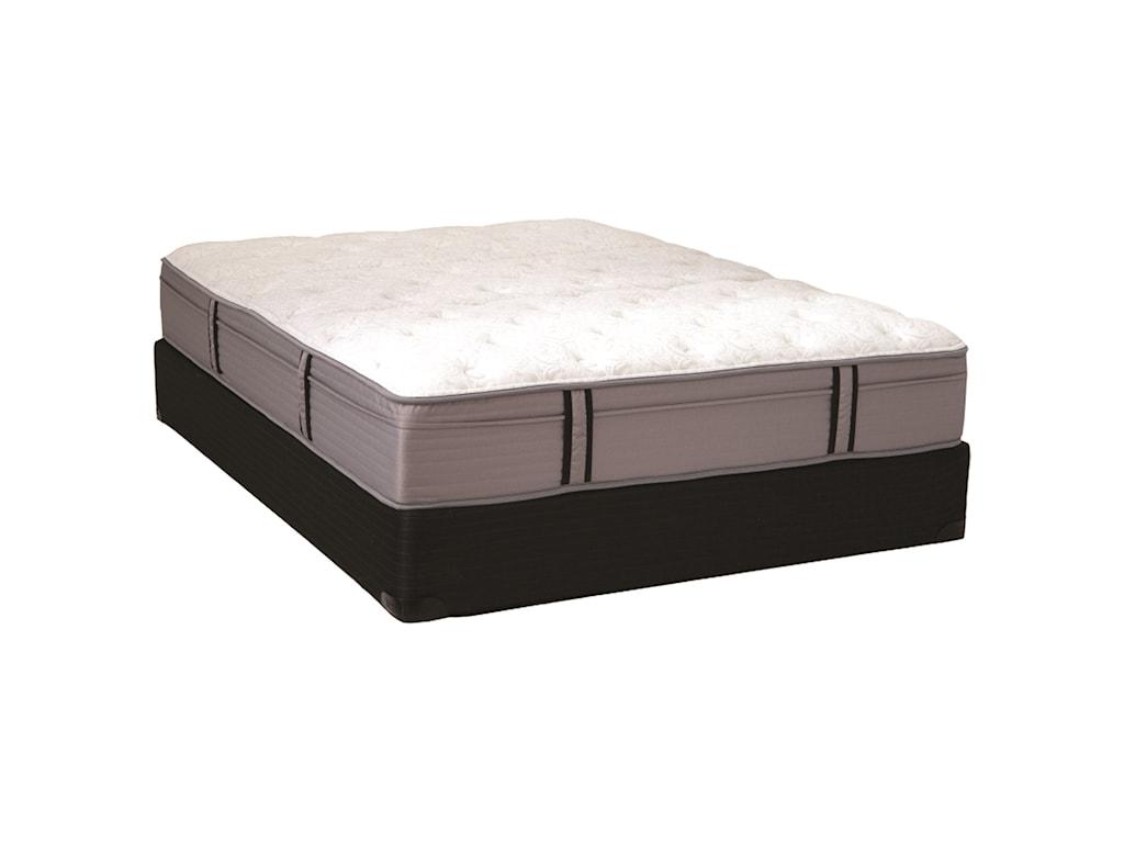 Restonic Windsor II Pillow TopTwin Pillow Top Pocketed Coil Mattress Set