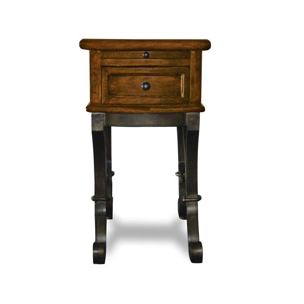 Riverside Furniture Stone ForgeChairside Table ...