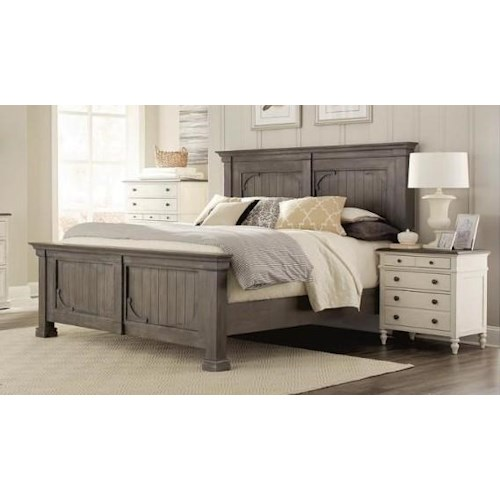 Riverside Furniture 4447 Queen Bed