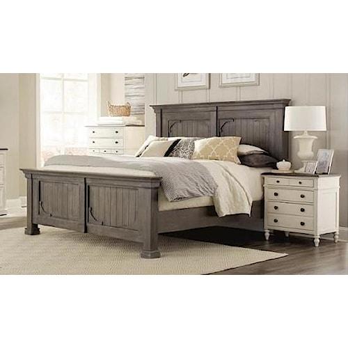 Riverside Furniture 4447 King Bed