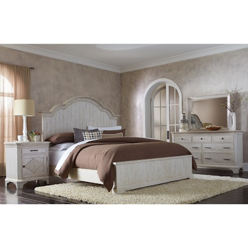 Riverside Furniture Aberdeen King Bedroom Group 1
