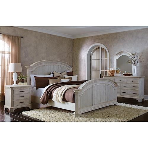 Riverside Furniture Aberdeen King Bedroom Group 2