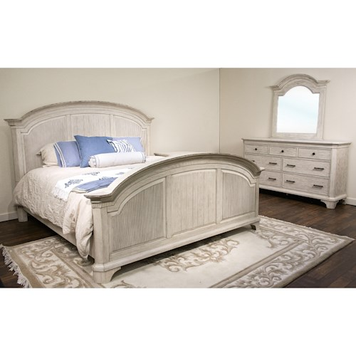 Riverside Furniture Aberdeen King Bedroom Group 3