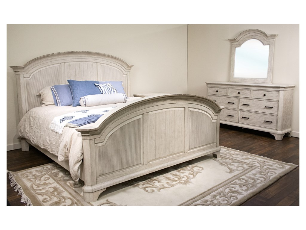 Riverside Furniture AberdeenKing Bedroom Group 3