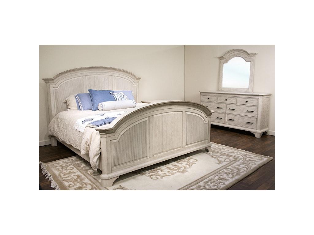 Riverside Furniture AberdeenQueen Bedroom Group 3