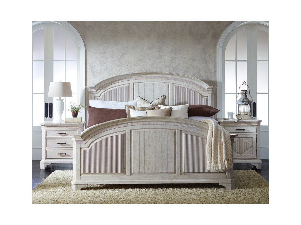 Riverside Furniture AberdeenQueen Bedroom Group 4