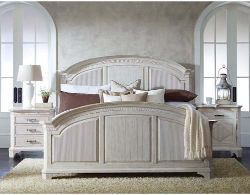 Riverside Furniture Aberdeen Queen Bedroom Group 4