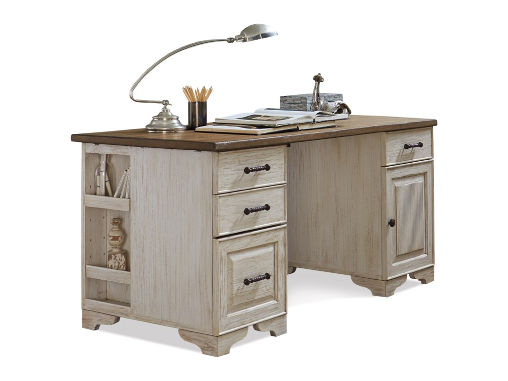 Riverside Furniture AberdeenPedestal Desk