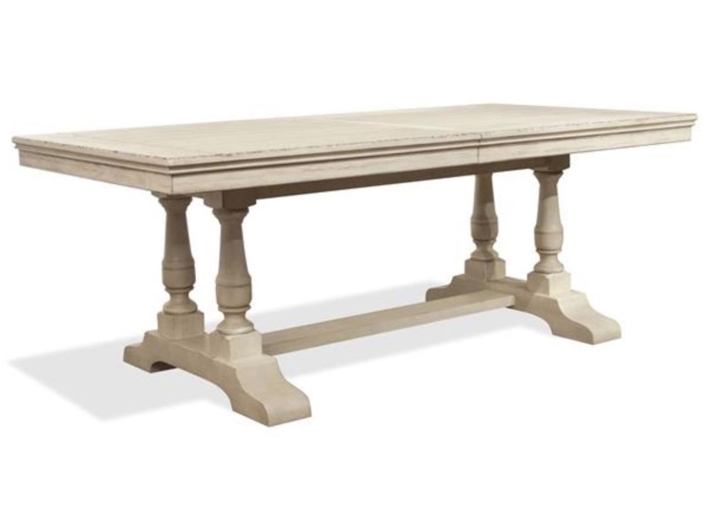 Riverside Furniture AberdeenTrestle Table