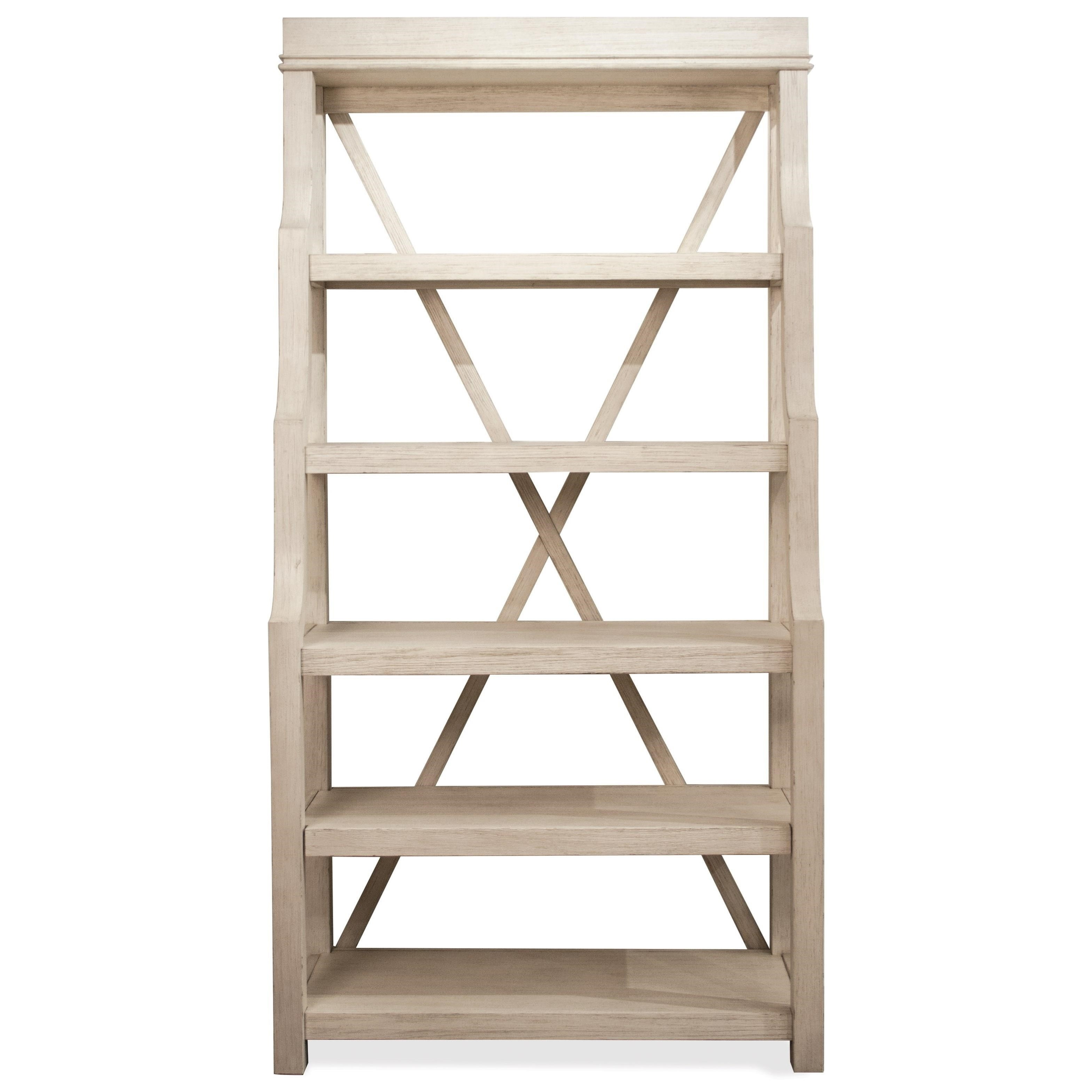 Riverside Furniture Aberdeen Open Display Cabinet