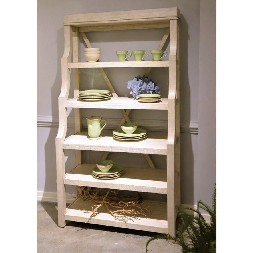 Superbe ... Riverside Furniture AberdeenOpen Display Cabinet ...