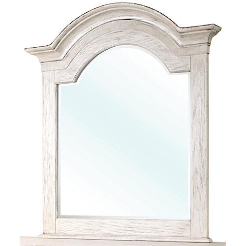 Riverside Furniture Aberdeen Arch Mirror