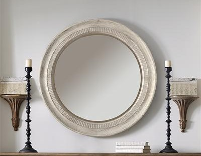Riverside Furniture AberdeenRound Accent Mirror