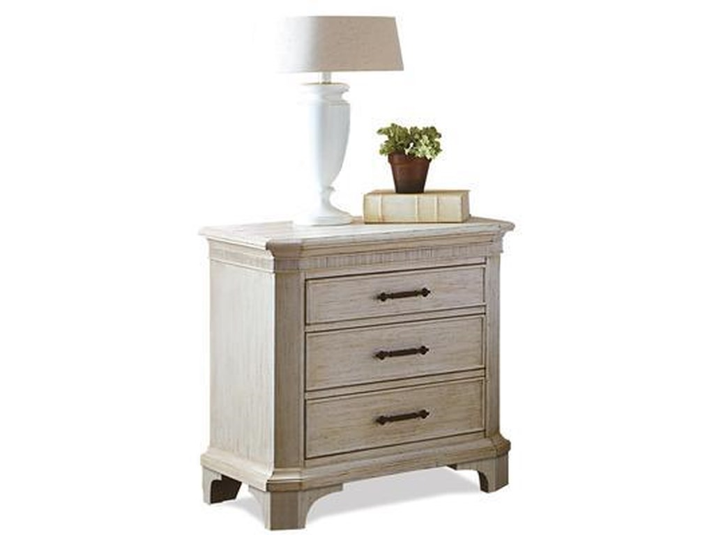 Riverside Furniture Aberdeen3 Drawer Nightstand