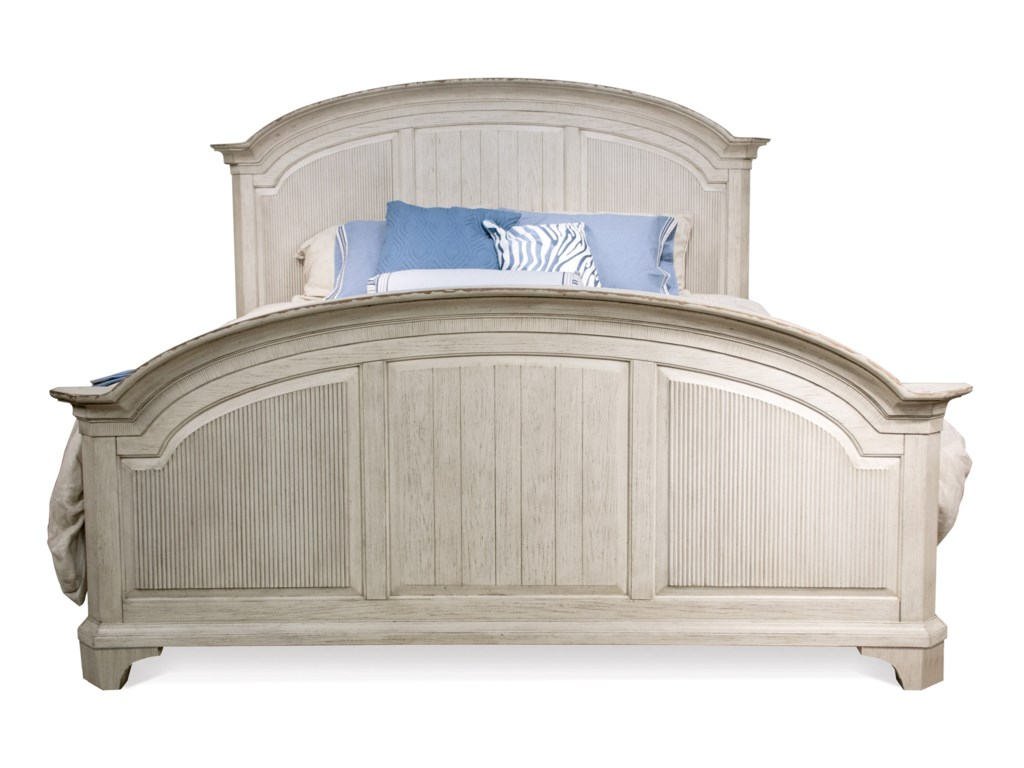 Riverside Furniture AberdeenCalifornia King Reeded Bed