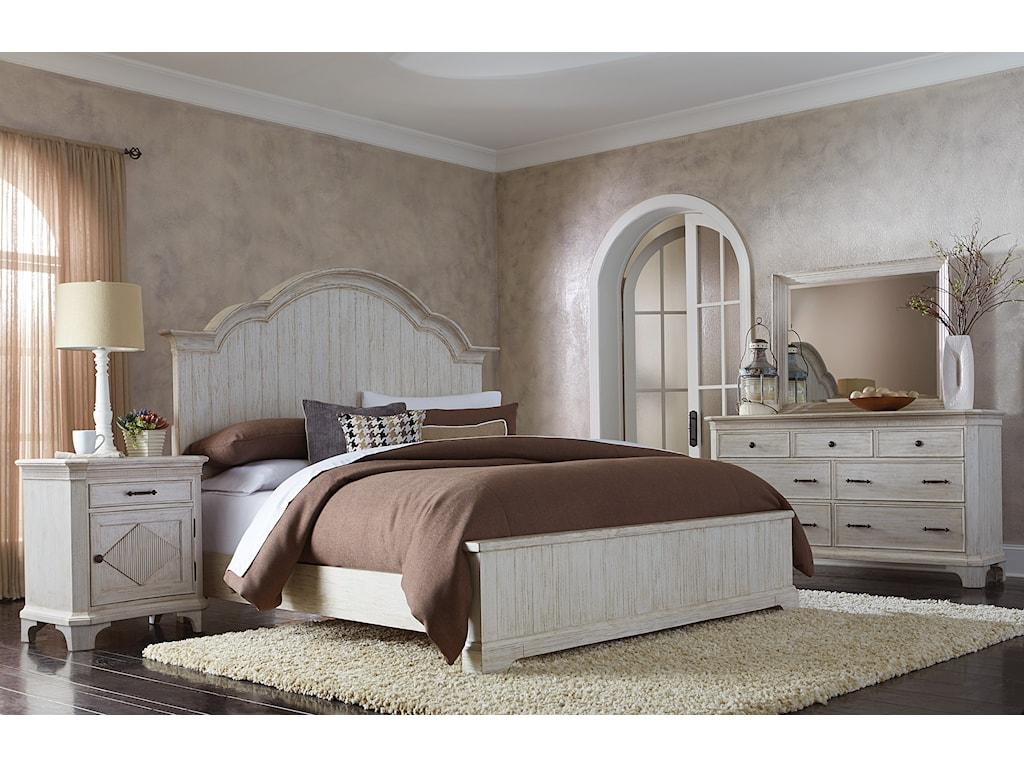 Riverside Furniture AberdeenQueen Panel Bed
