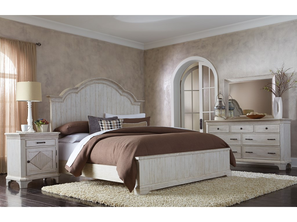 Riverside Furniture AberdeenQueen Panel Bed