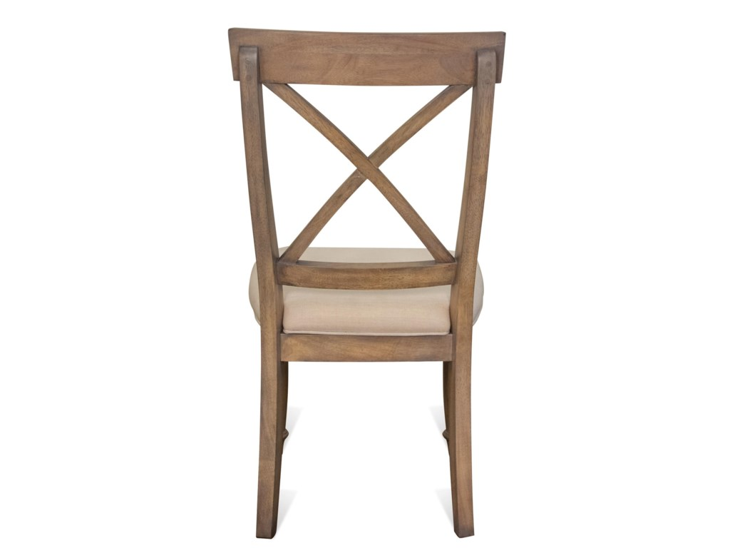 Riverside Furniture AberdeenX-Back Side Chair