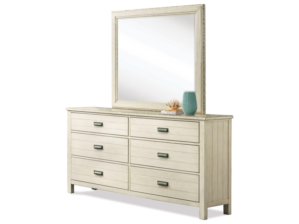 Riverside Furniture Aberdeen6-Drawer Dresser