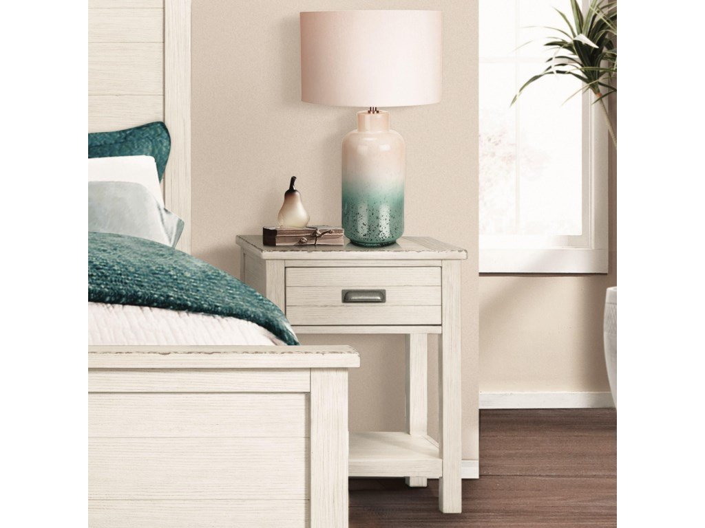 Riverside Furniture Aberdeen1-Drawer Nightstand